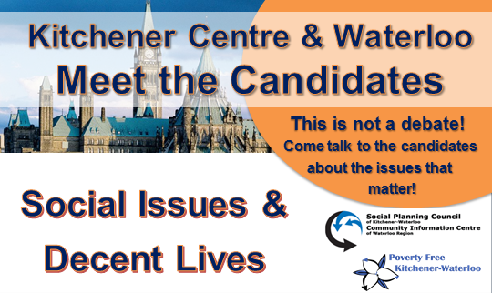 Kitchener Centre and Waterloo Meet the Candidates