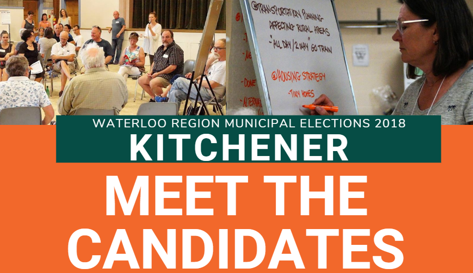 Kitchener Meet the Candidates 2018