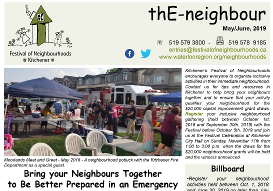May E Neighbour Banner