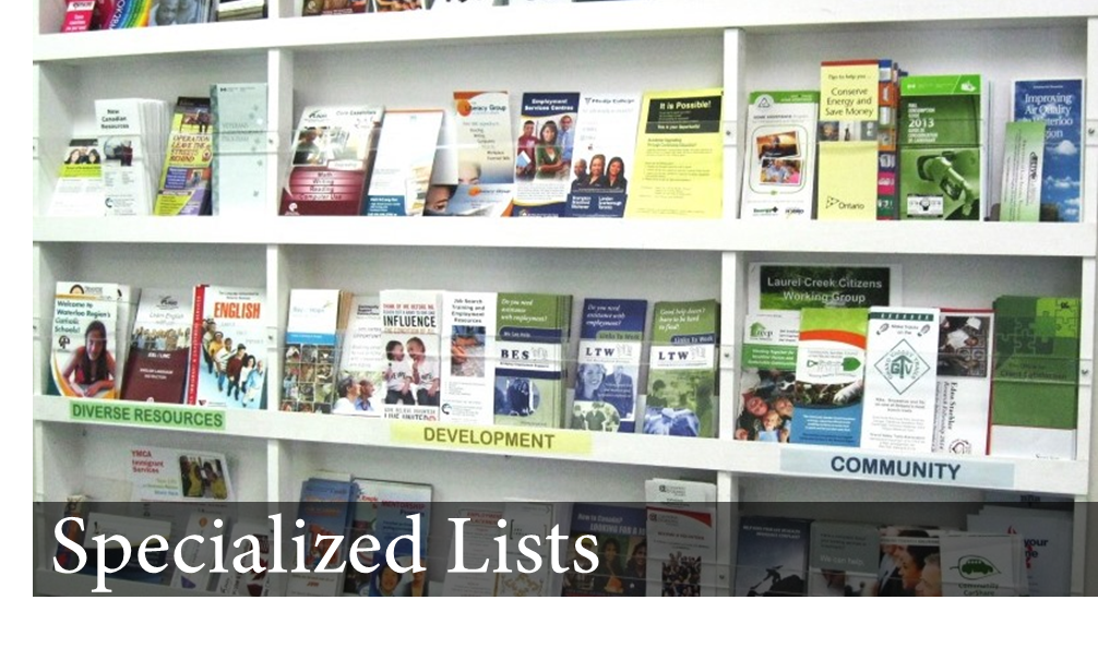 Specialized Lists